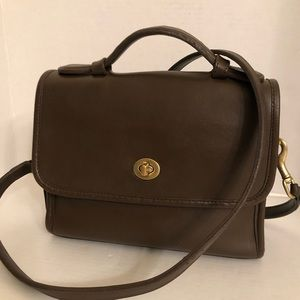 Authentic Classic Coach Court Bag